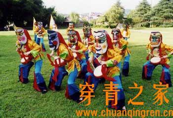 中国现存的傩舞和傩戏调查报告(图文)  文化习俗 第5张