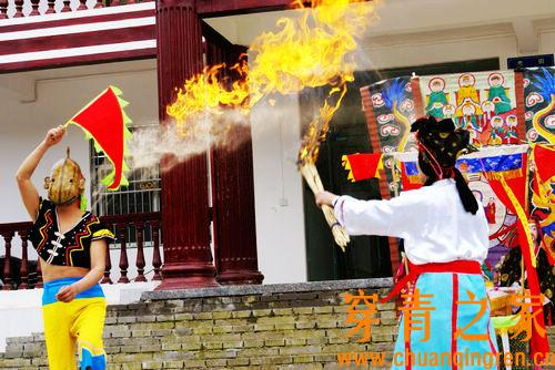 中国现存的傩舞和傩戏调查报告(图文)  文化习俗 第6张