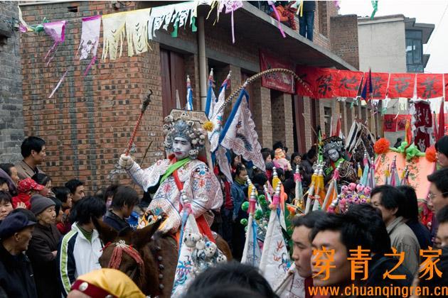 中国现存的傩舞和傩戏调查报告(图文)  文化习俗 第7张