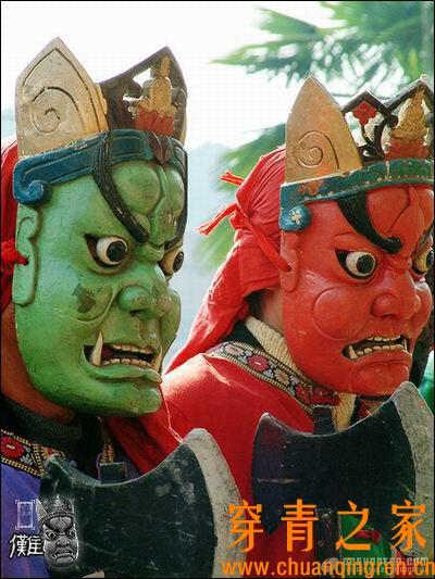 中国现存的傩舞和傩戏调查报告(图文)  文化习俗 第9张