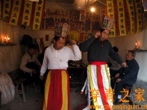 贵州纳雍穿青人的傩堂戏  文化习俗 纳雍 第4张